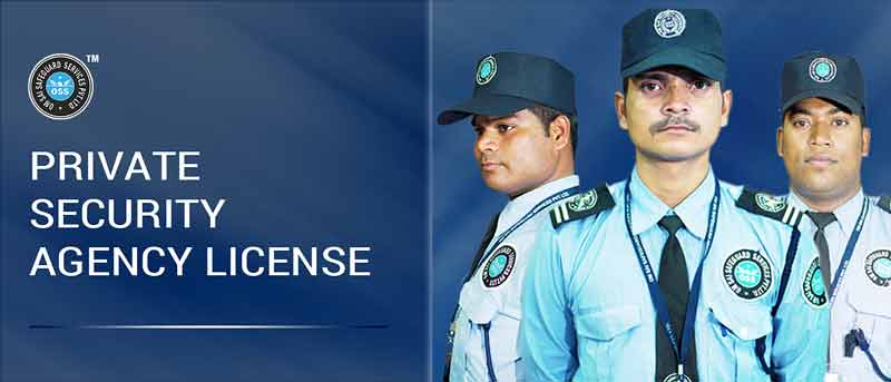 PRIVATE SECURITY AGENCY BUSINESS LICENSE